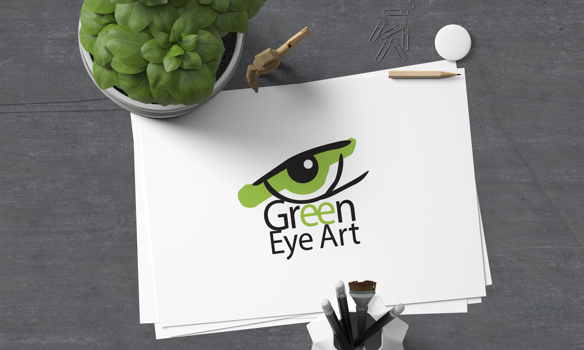 Green Eye Art